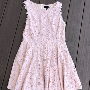 Light Pink Jodi Kristopher Mini Dress